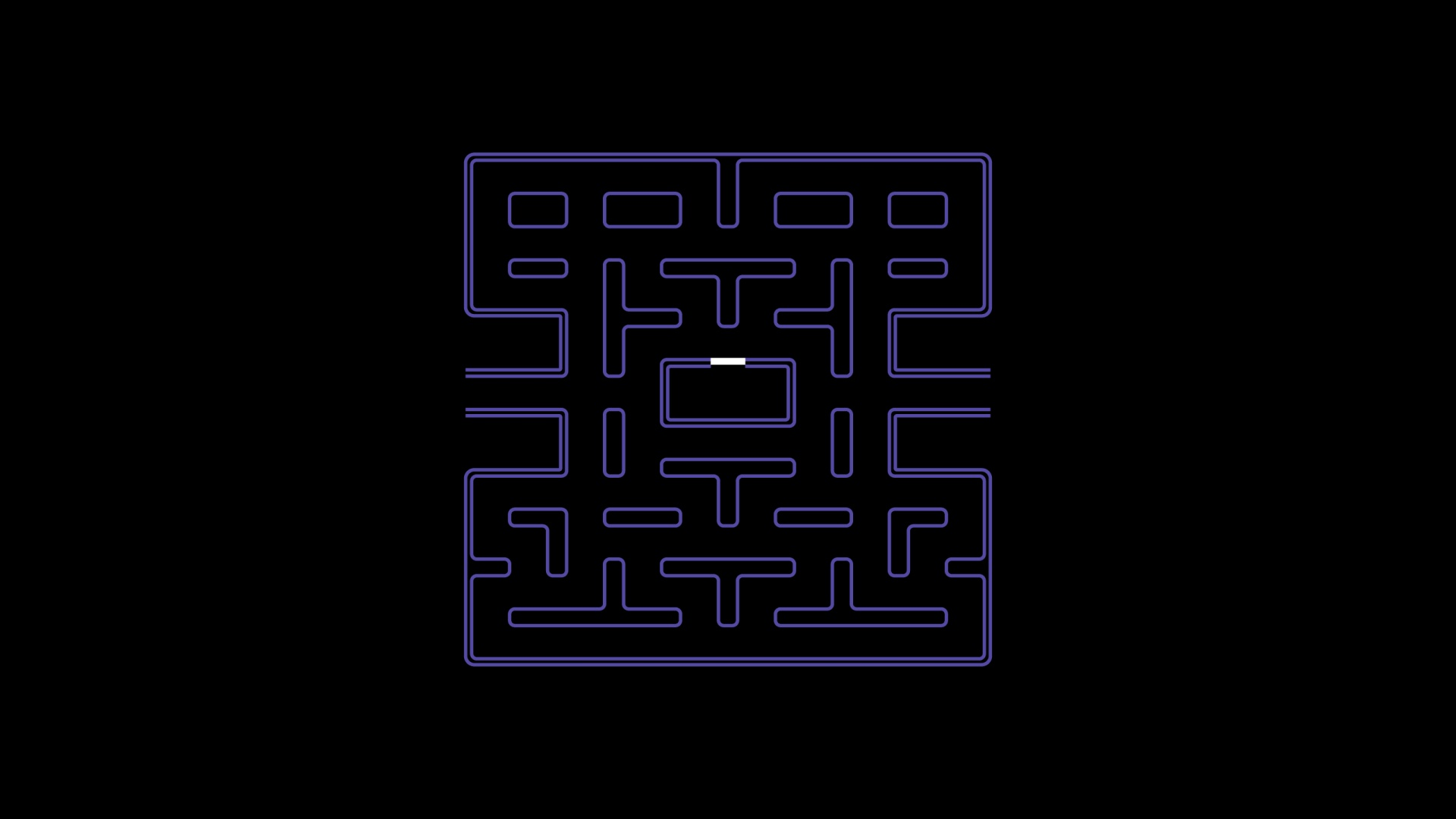 1920x1080 Pac Man Grid Desktop PC And Mac Wallpaper