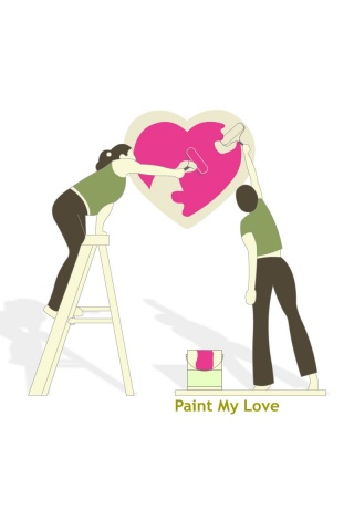 320x480 Paint my love