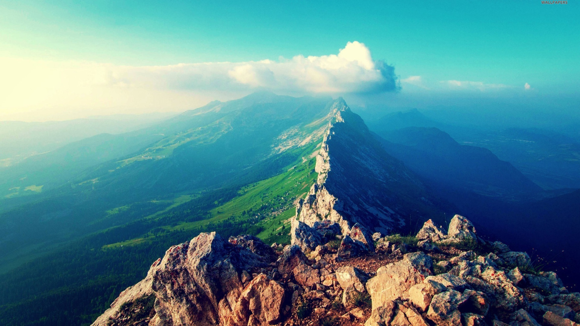1920x1080 perfect mountain range lookout desktop pc and