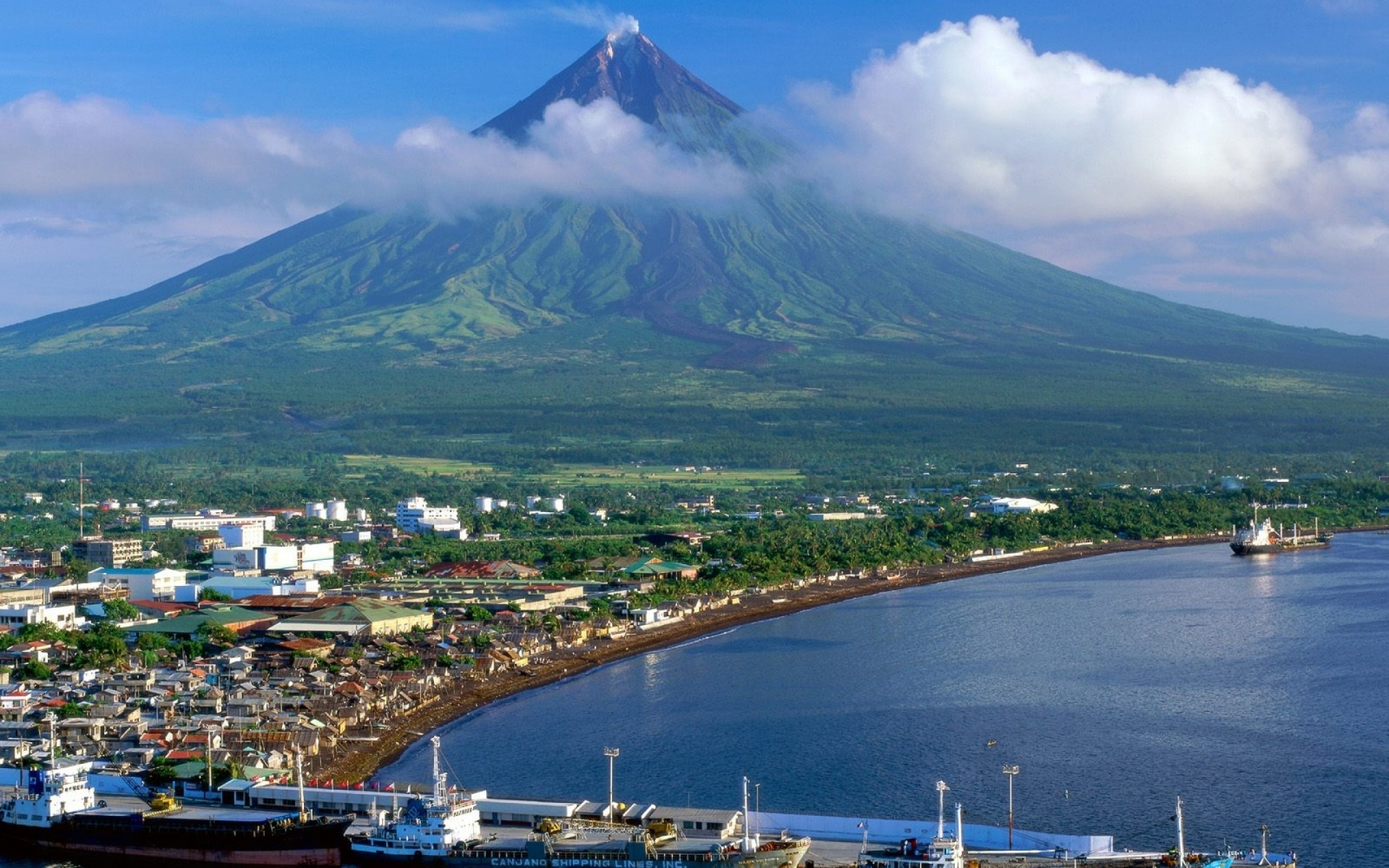 1920x1200 philippines mayon volcano desktop pc and mac for Wallpaper home philippines