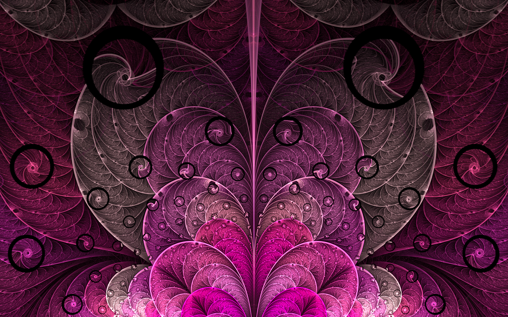 wallpapers purple hearts pink - photo #40