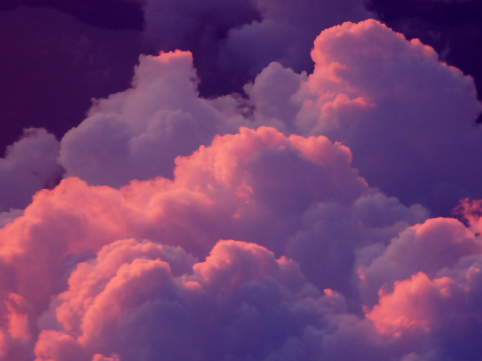 1600x1200 pink clouds desktop pc and mac wallpaper