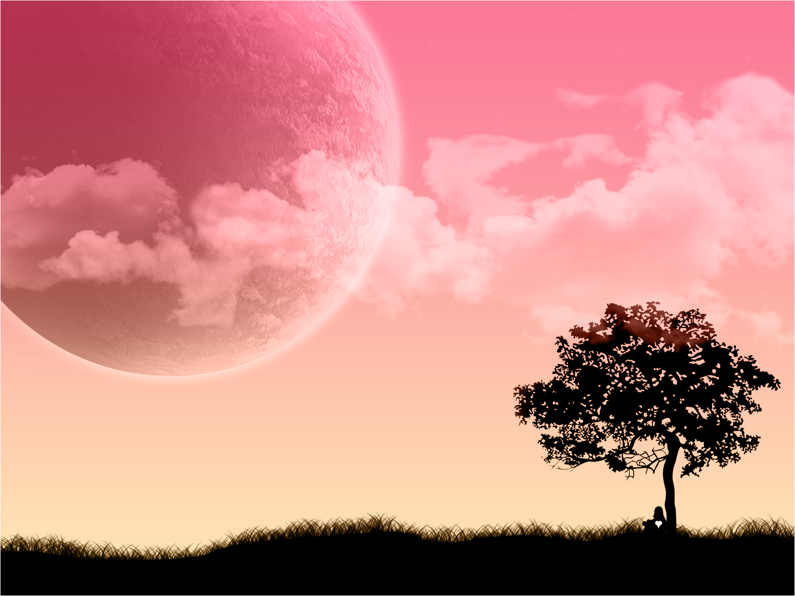 1600x1200 Pink Dream Desktop Pc And Mac Wallpaper