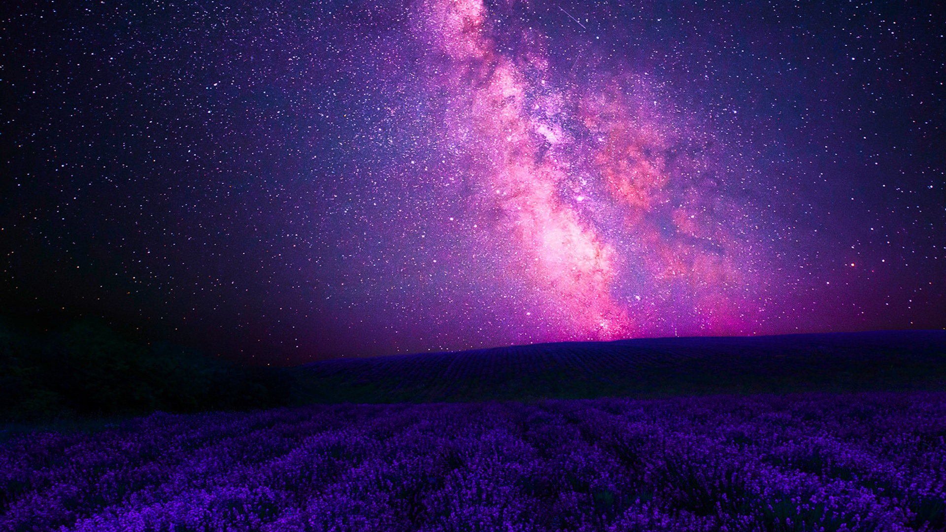 1920x1080 Pink Galaxy Purple Lavender Desktop Pc And Mac