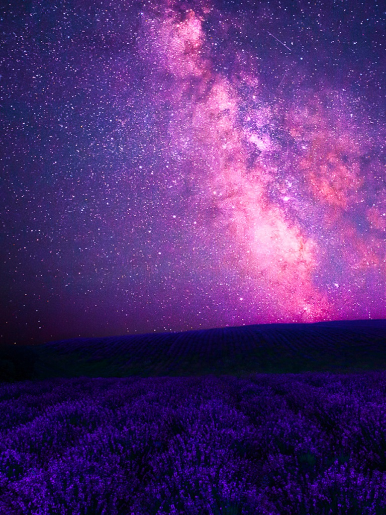 768x1024 pink galaxy amp purple lavender ipad mini wallpaper