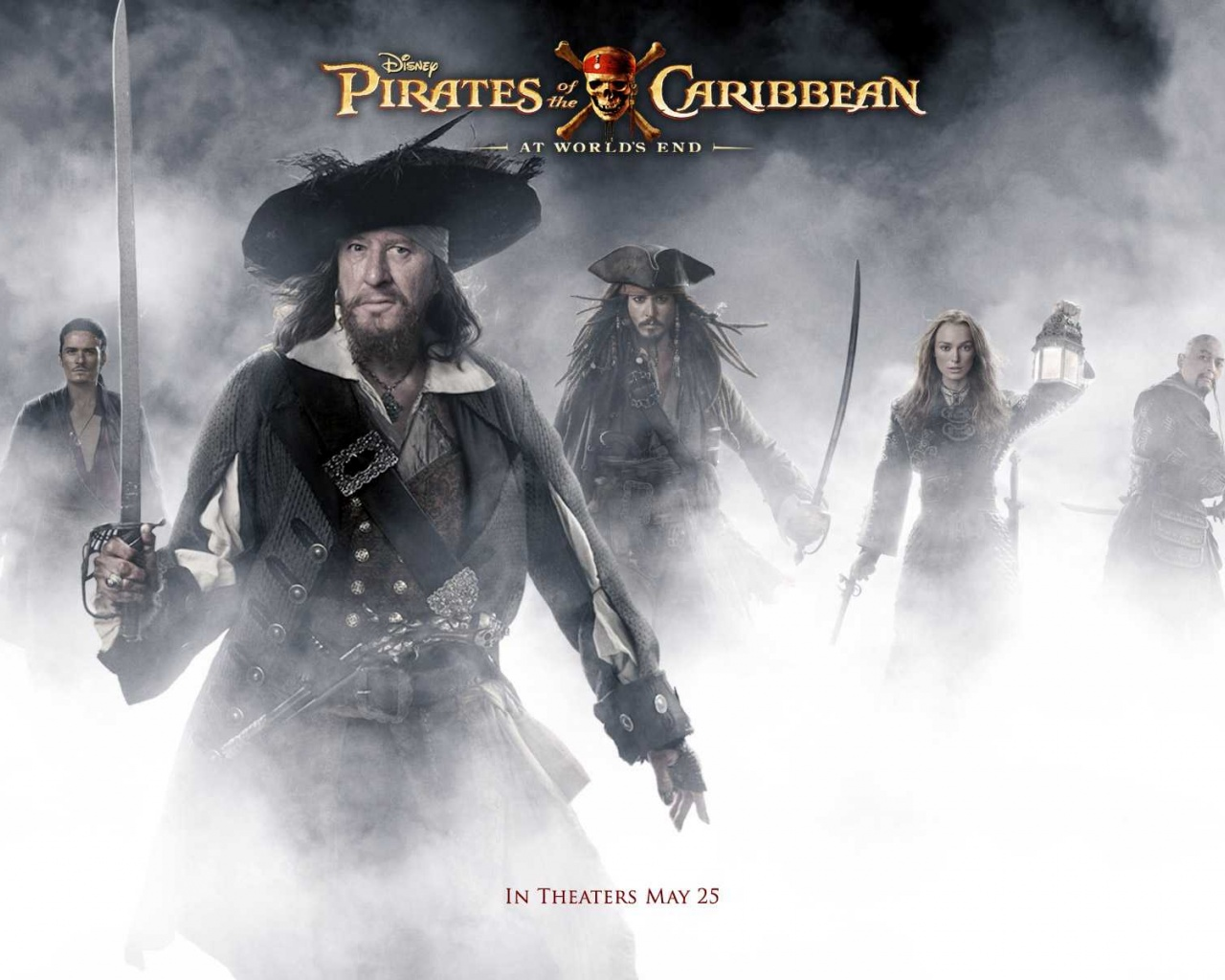 1280x1024 Pirates Of The Caribbean Worlds Animated Photo