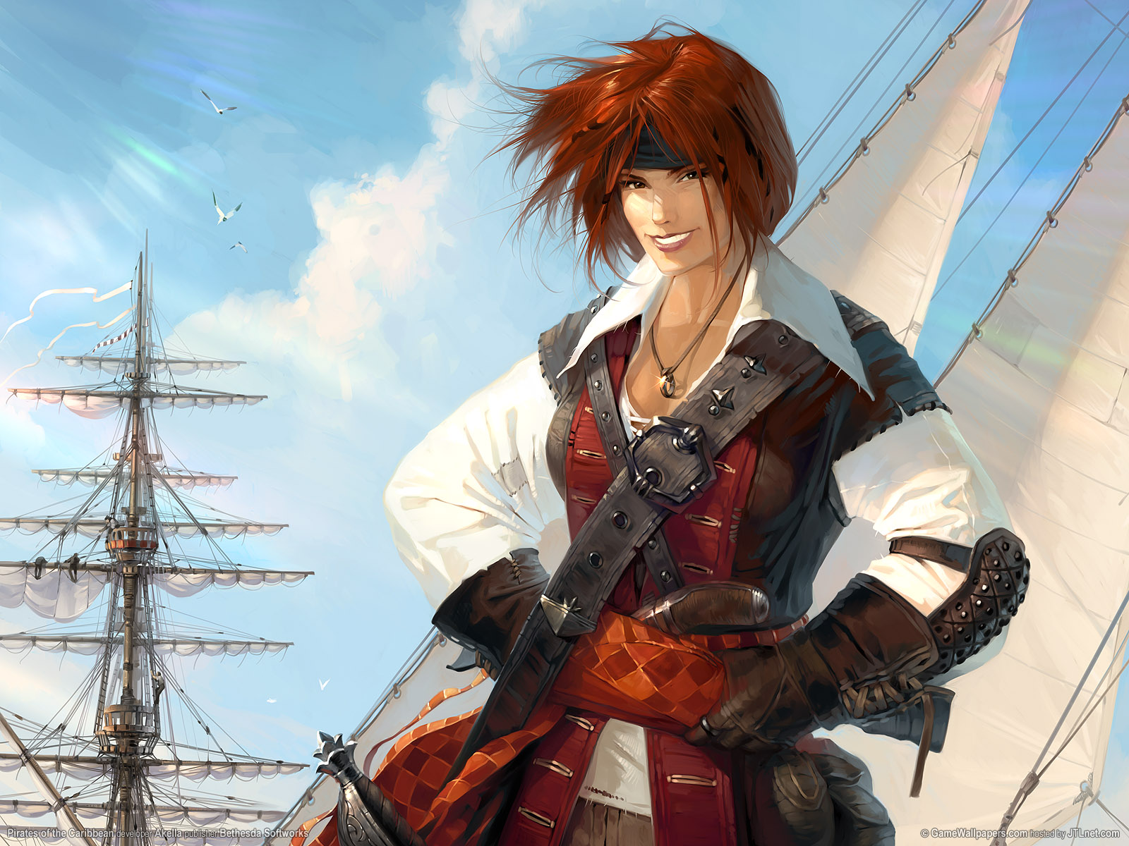 Pirates of the carribean wallpapers pirates of the - Anime pirate wallpaper ...