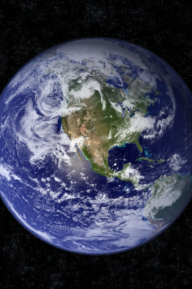 640x960 Planet Earth Iphone 4 Wallpaper