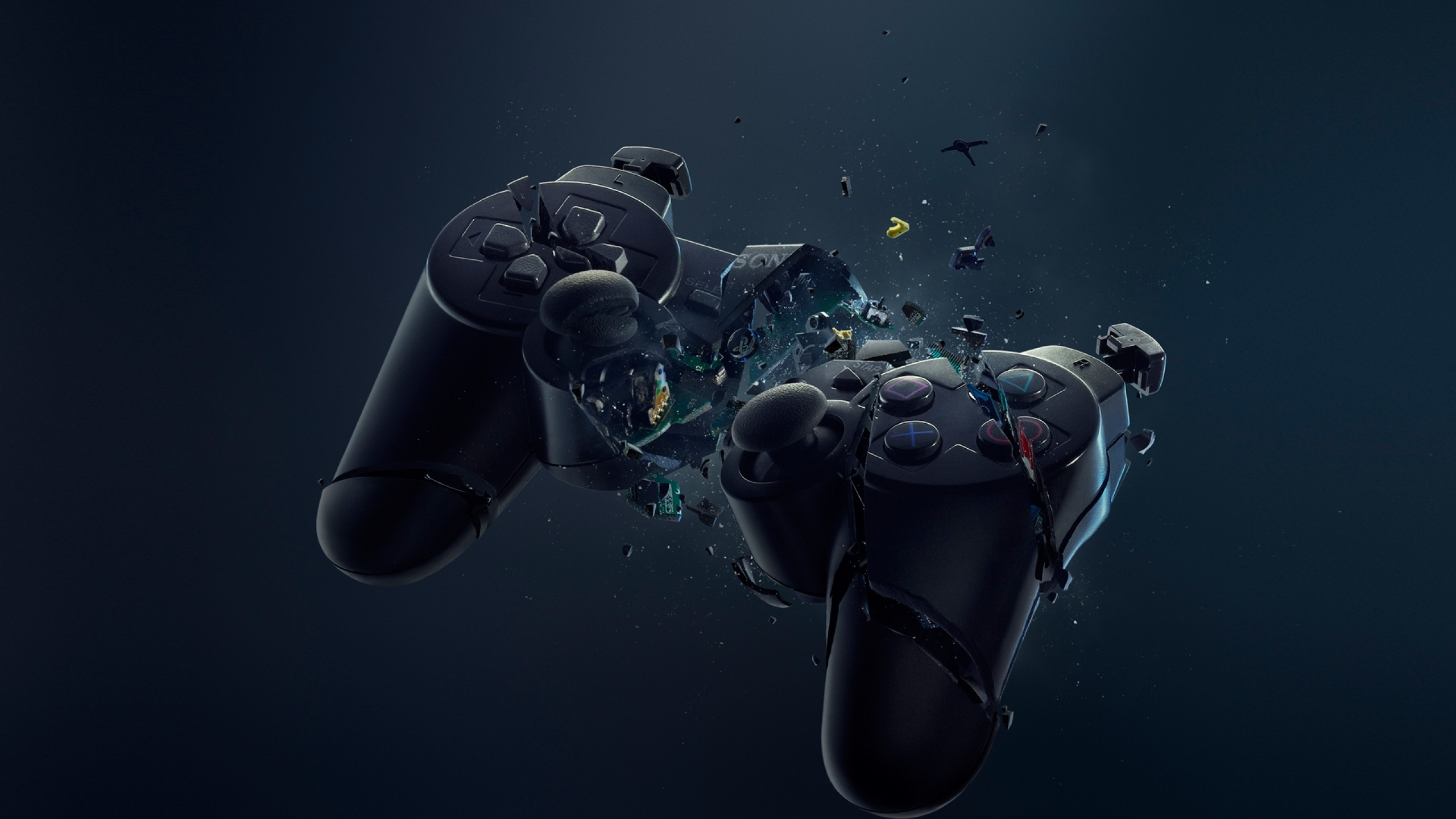 2560x1440 playstation, gamepad, crash YouTube Channel Cover