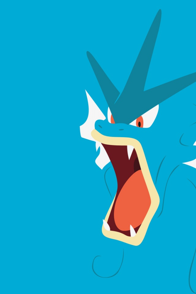 640x960 pokemon gyarados iphone 4 wallpaper
