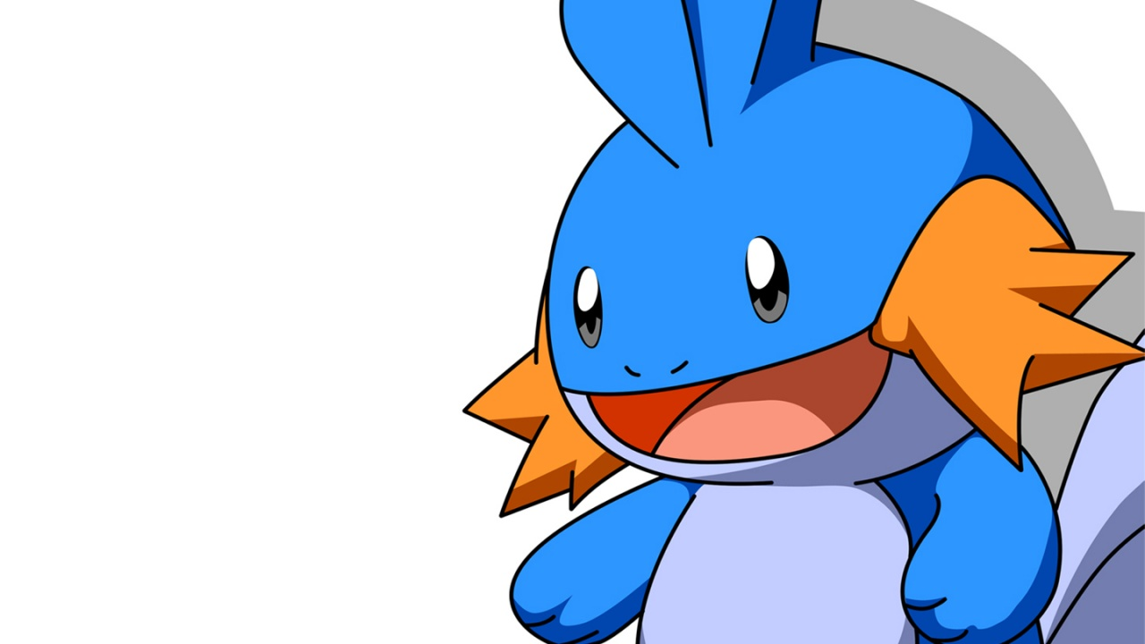 1280x720 Pokemon mudkip