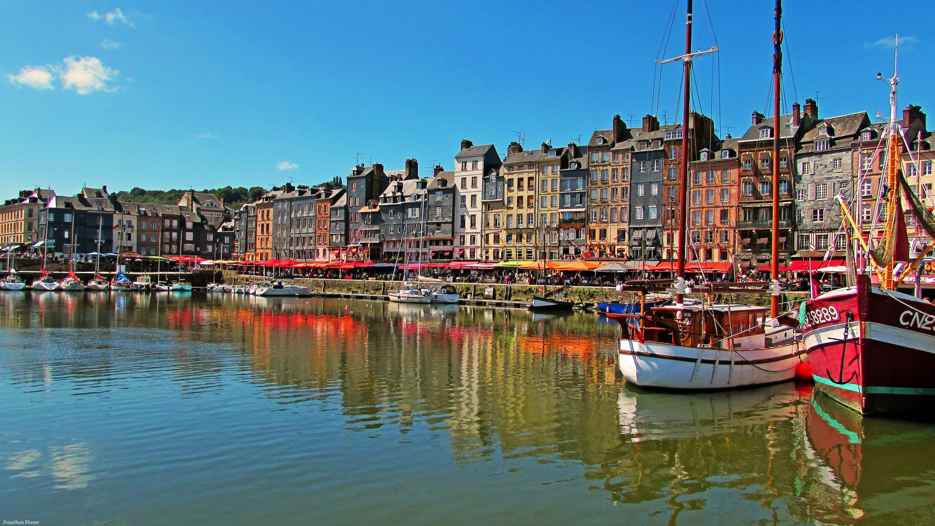 1920x1080 port of honfleur desktop pc and mac wallpaper