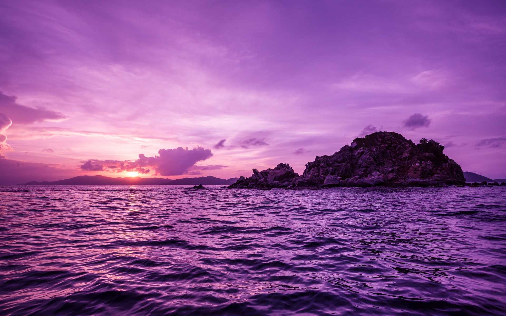 1920x1200 pretty purple pelican islands desktop pc and mac wallpaper