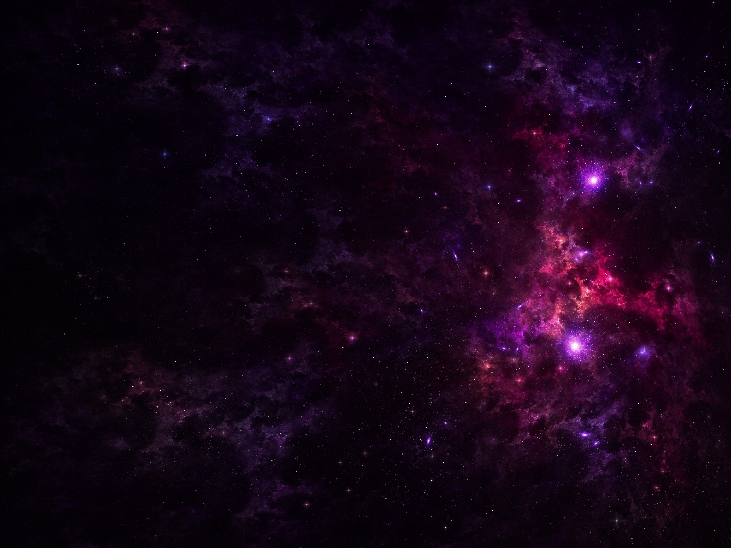 Purple outer space stars wallpapers purple outer space - Space wallpaper large ...