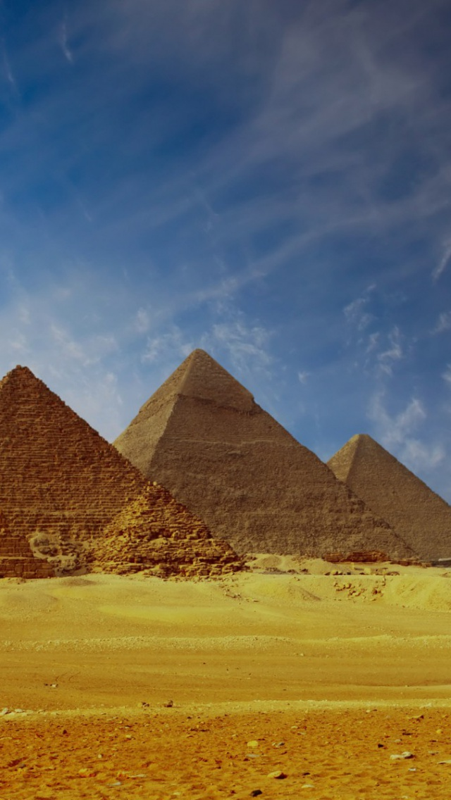 640x1136 pyramids of giza cairo egypt iphone 5 wallpaper for Home wallpaper egypt