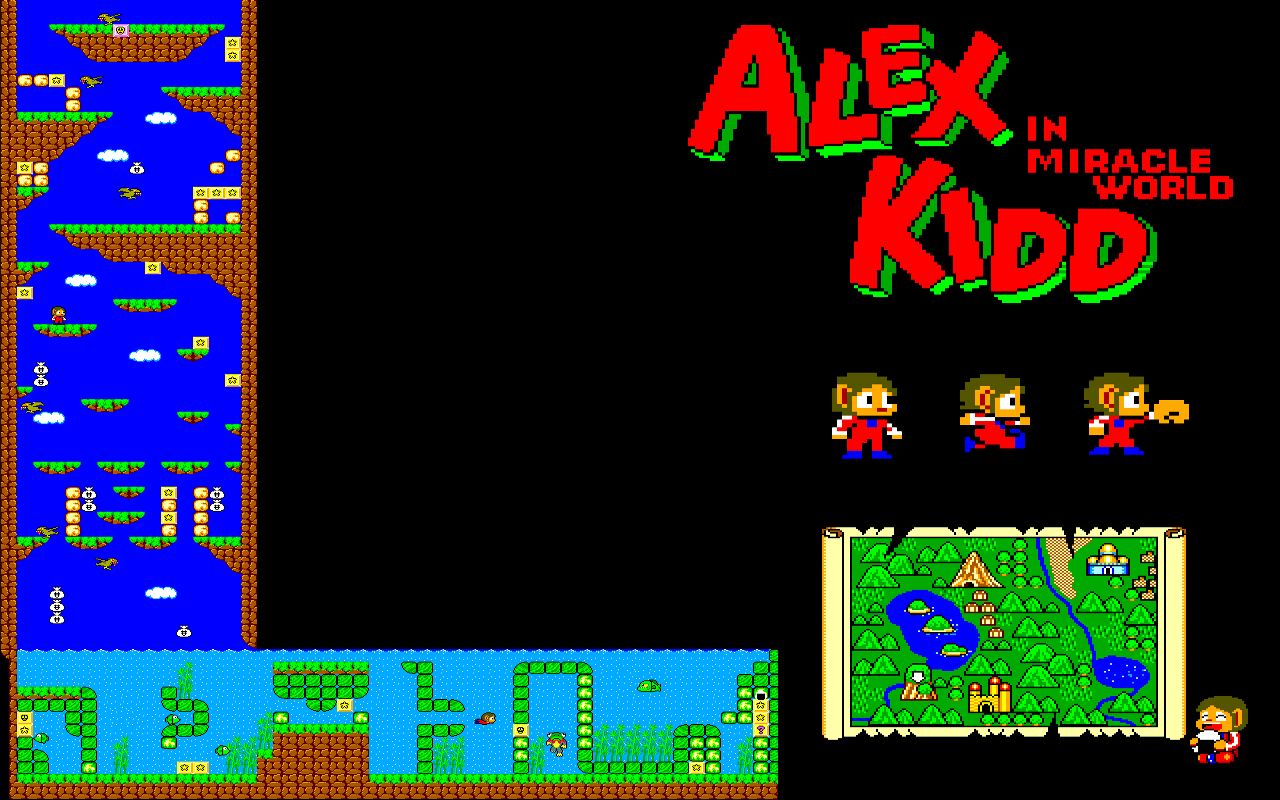 alex kidd in miracle world pc