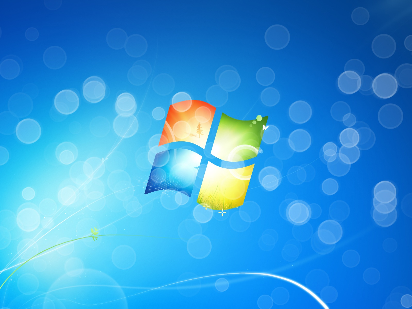 Download <b>1600x1200 Windows 7</b> Ultimate Leather Wallpaper