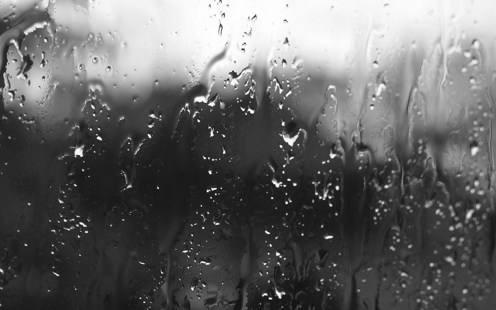 1500x500 Rain On Glass Twitter Header Photo