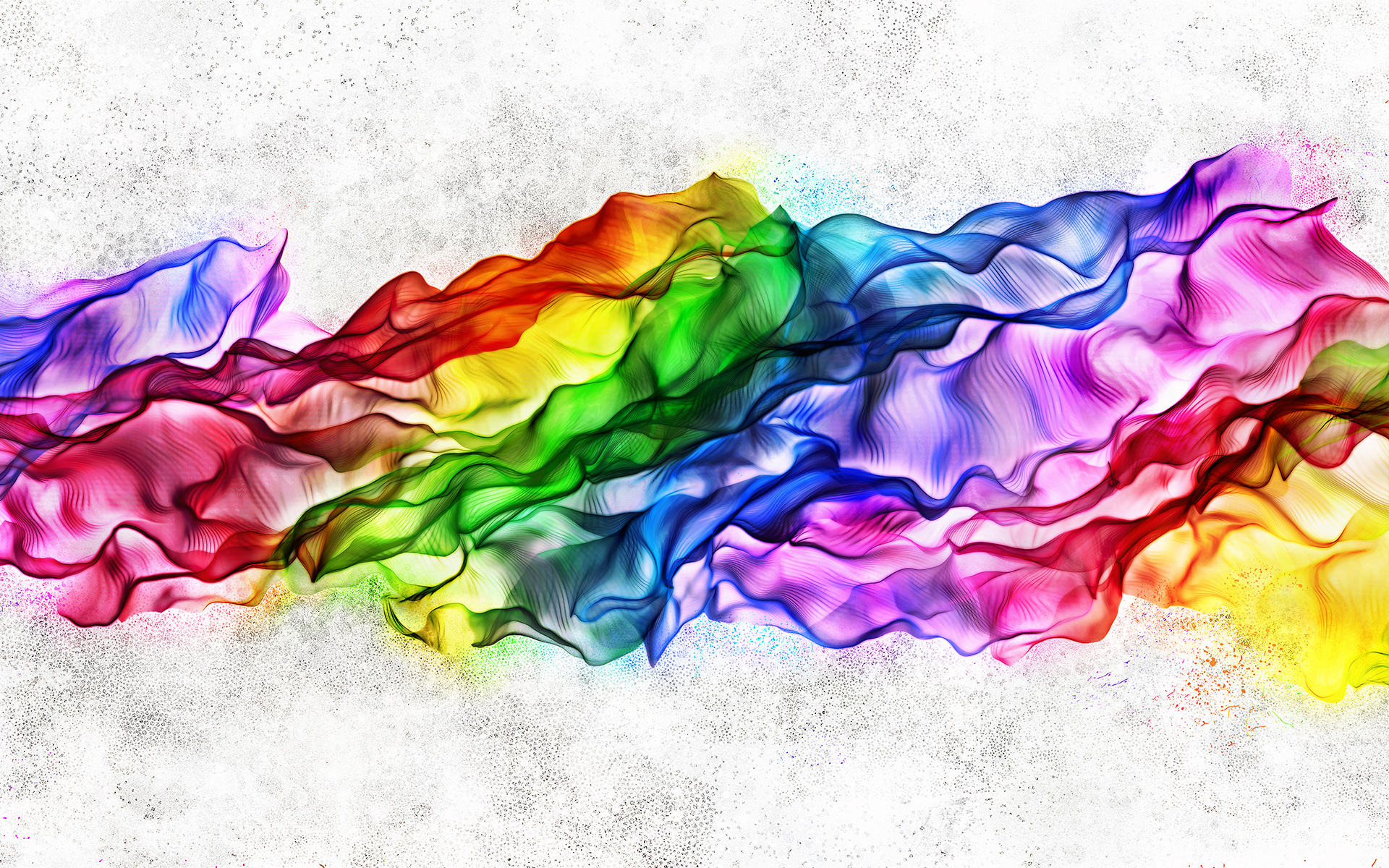 1920x1200 Rainbow Silk Desktop Pc And Mac Wallpaper