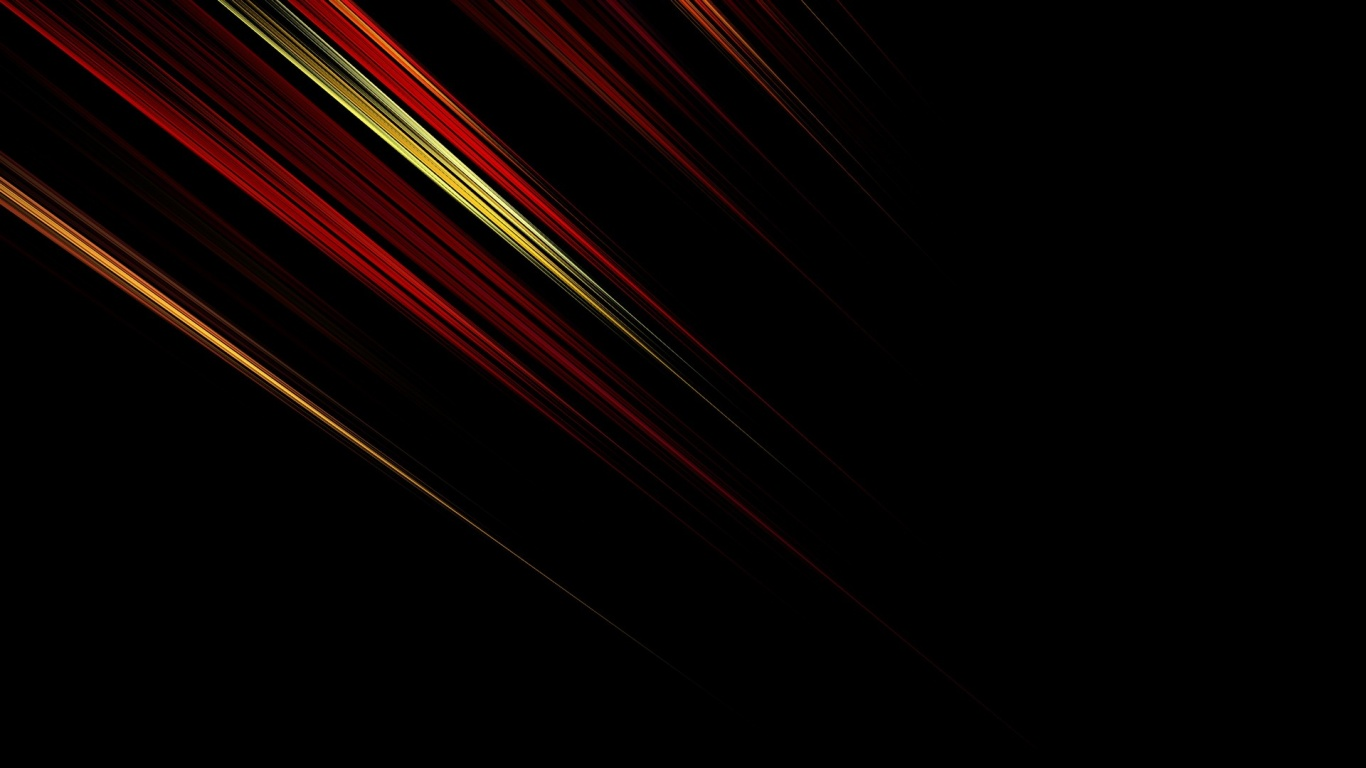 1366x768 Red, Orange and Yellow Diagonals desktop PC and ...