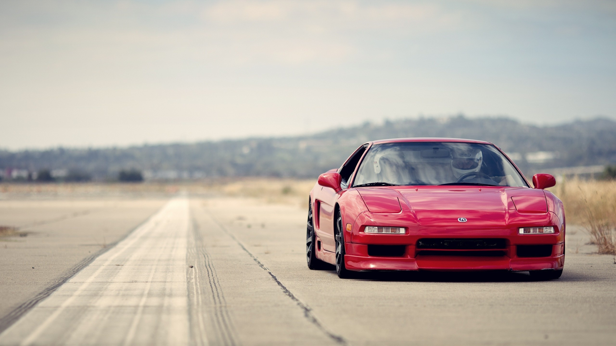 2560x1440 Red Acura NSX Desktop PC And Mac Wallpaper