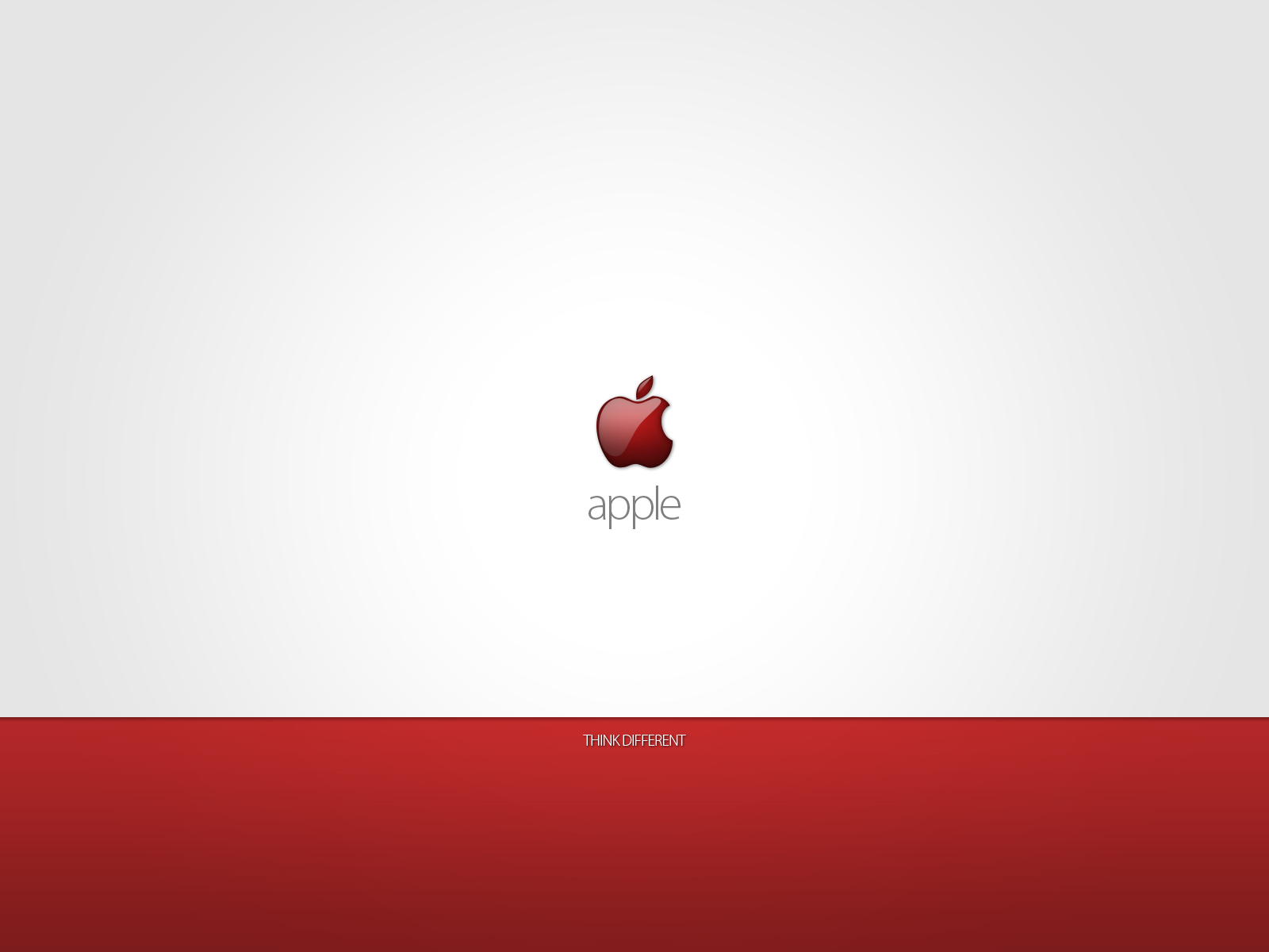 Red apple think different wallpapers red apple think - Red apple wallpaper ...