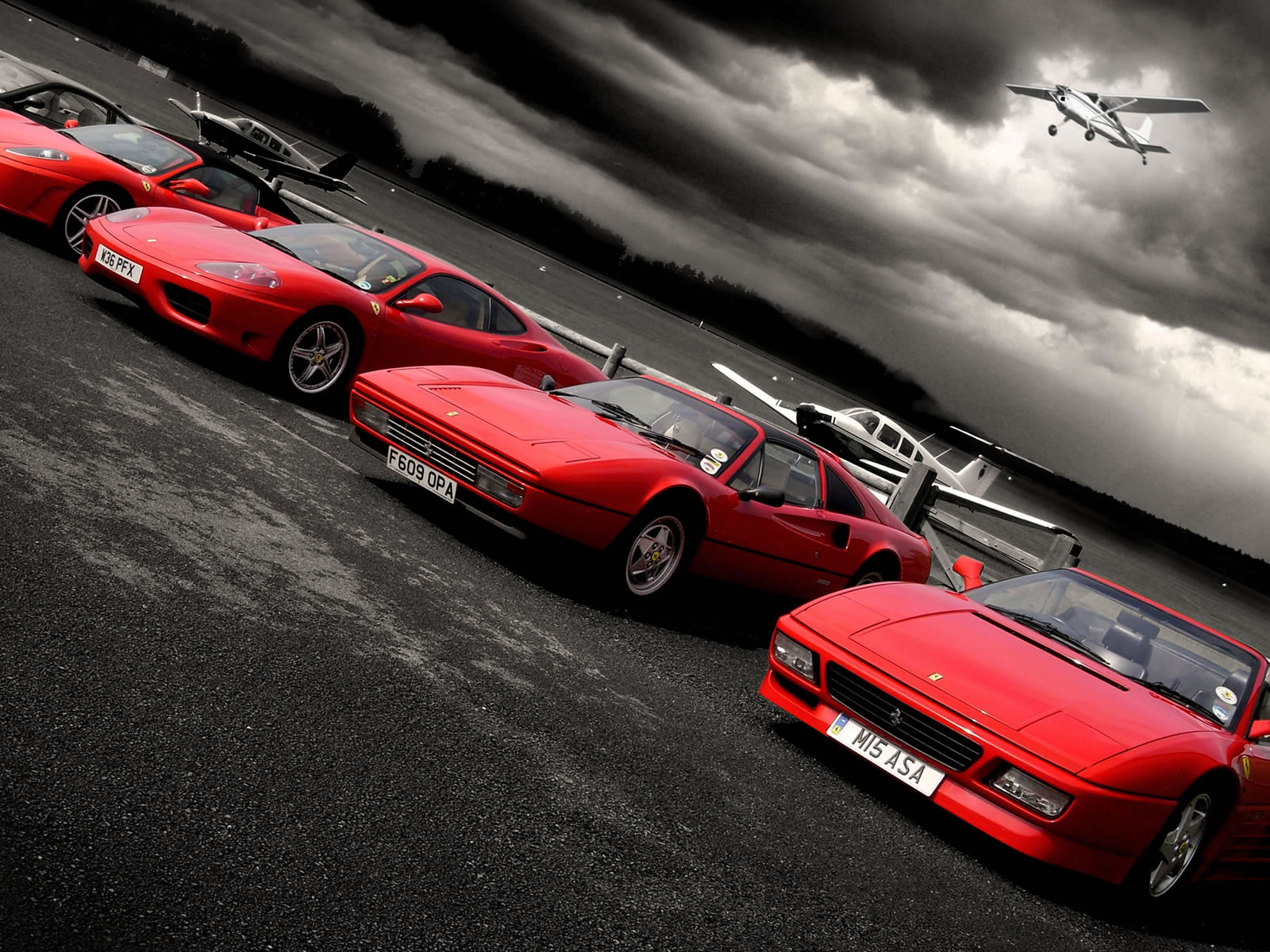 Image: Red Ferrari Cars Wallpapers And Stock Photos. «