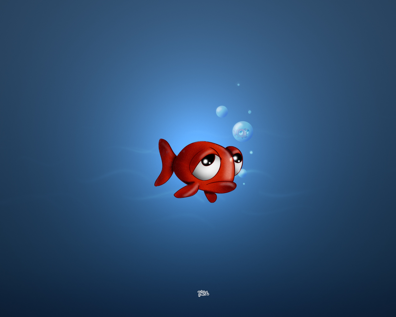 1280x1024 red fishy desktop pc and mac wallpaper