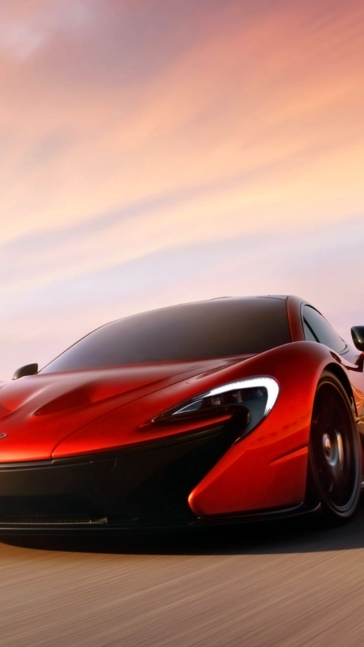 Mclaren X 1 >> 720x1280 Red McLaren P1 Htc one x wallpaper