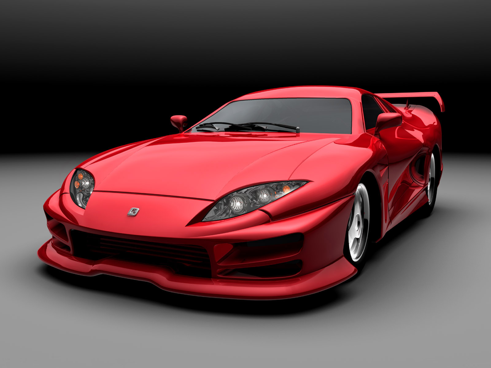Next Red Sports Car Angle