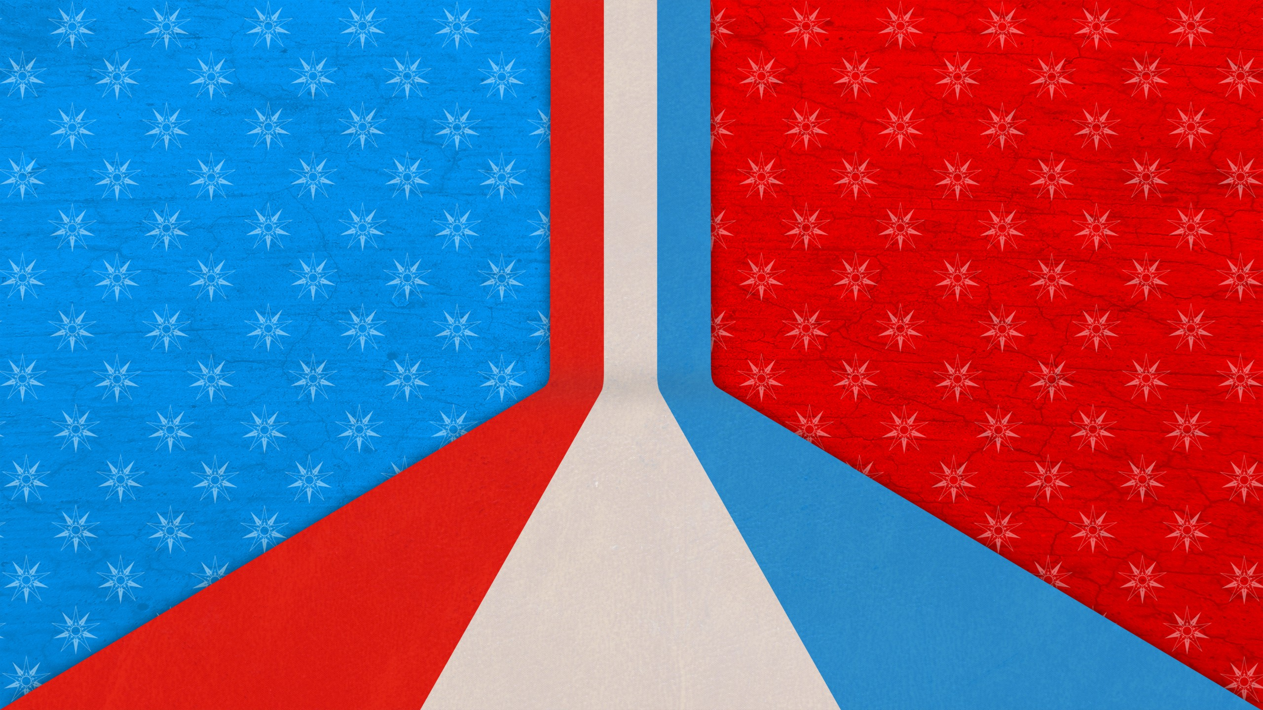 2560x1440 Red White And Blue Abstract Youtube Channel Cover