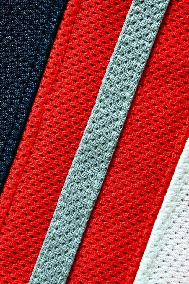 640x960 Red White And Blue Fabric Iphone 4 Wallpaper