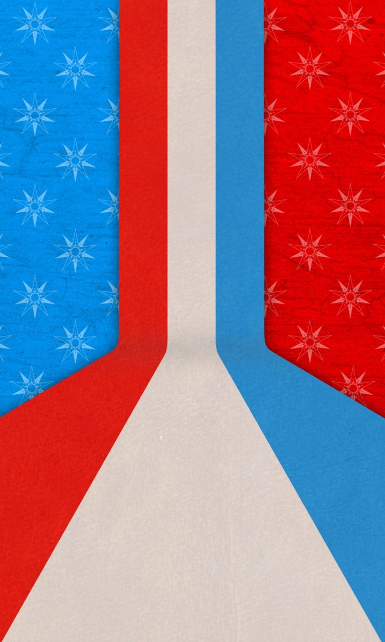 768x1280 Red White And Blue Lumia 920 Wallpaper