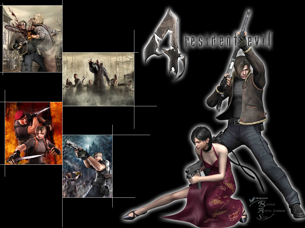 1024x768 Resident Evil 4 desktop PC and Mac wallpaper
