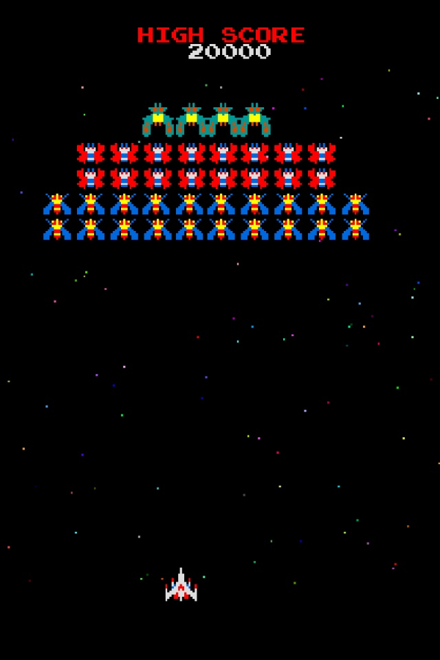 galaga wallpaper iphone - photo #2