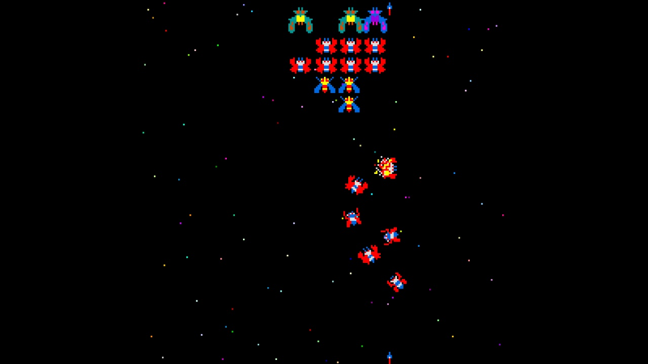 Galaga Hd Wallpaper