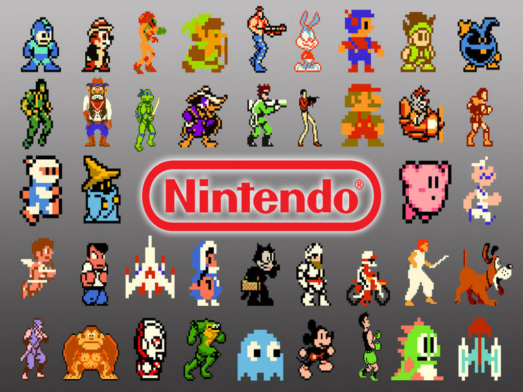 1024x768 Retro Nes Desktop Pc And Mac Wallpaper
