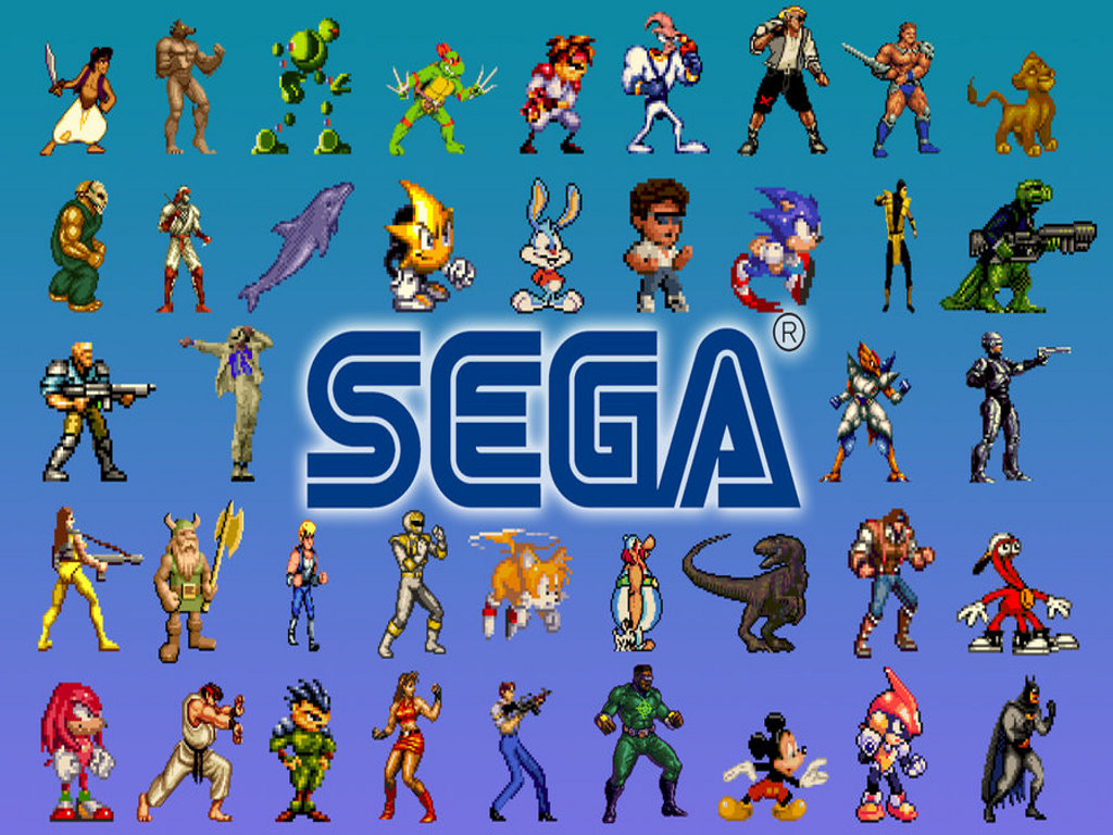 1024x768 Retro Sega Genesis Desktop Pc And Mac Wallpaper