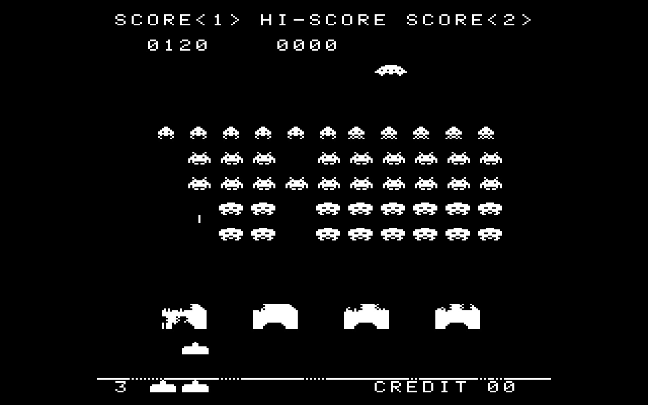 space invaders online original