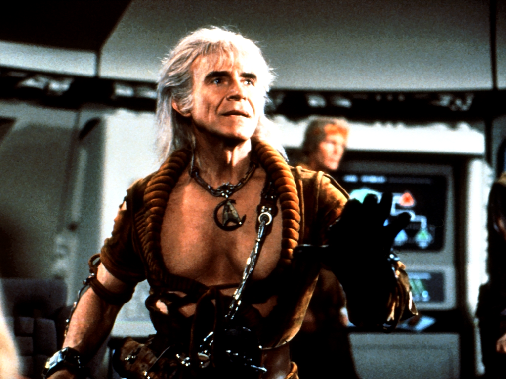 1024x768 Ricardo Montalban as Khan