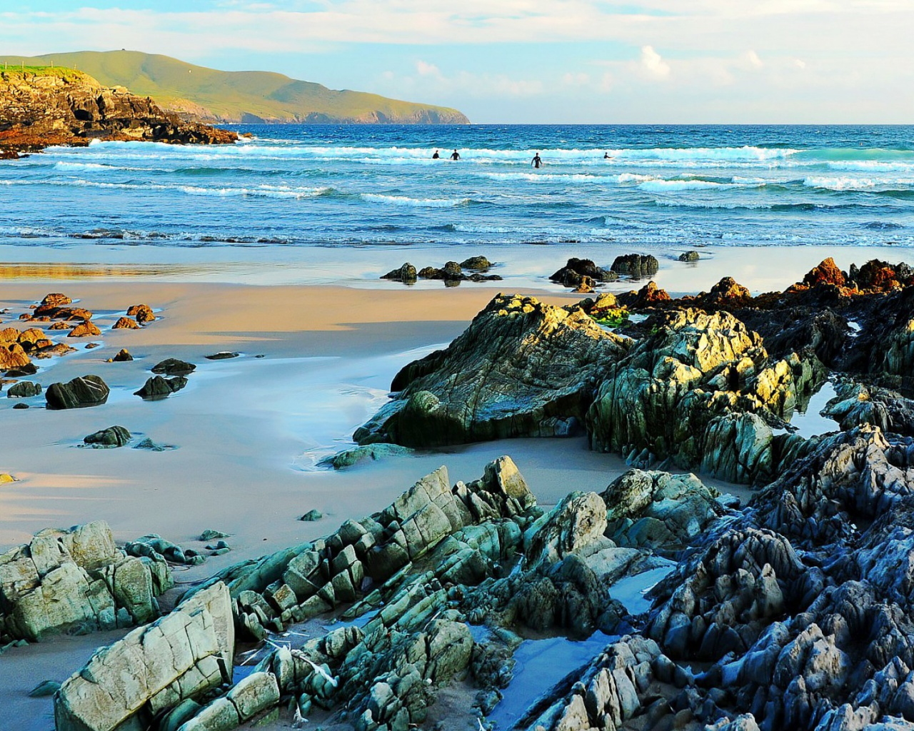 1280x1024 Ring Of Kerry Southern Ireland Desktop PC And