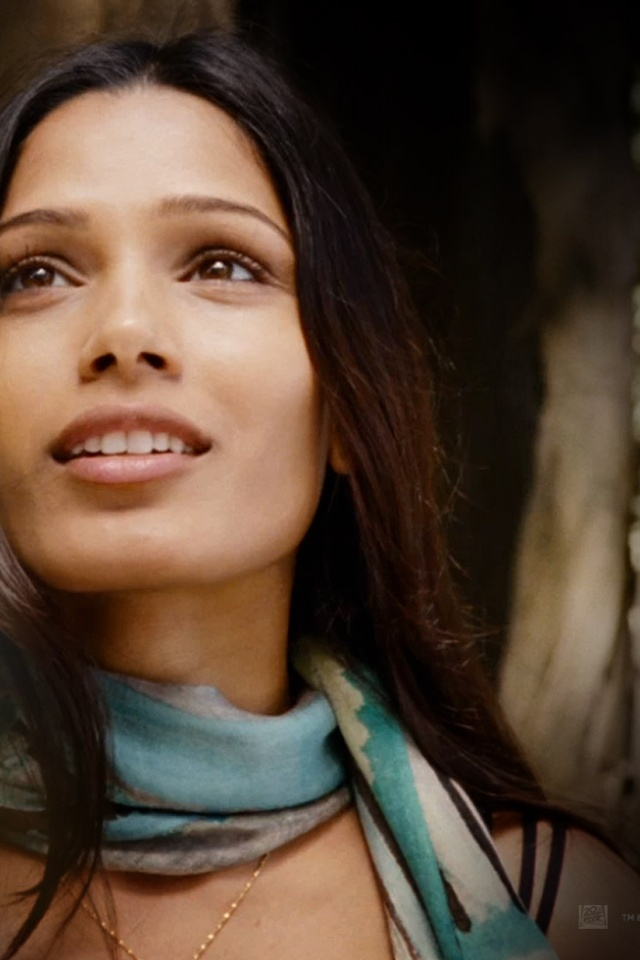 640x960 Rise Of The Planet Of The Apes Freida Pinto Iphone