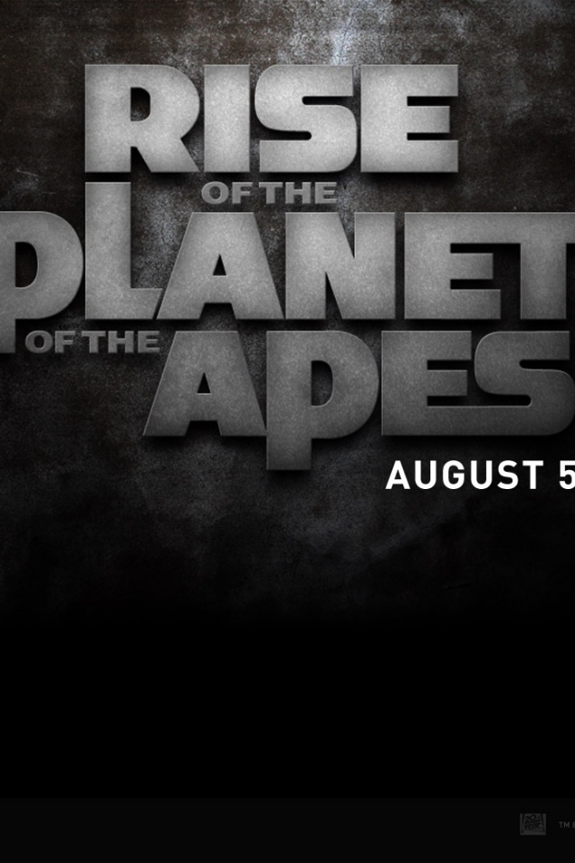 640x960 Rise Of The Planet Of The Apes Iphone 4 Wallpaper
