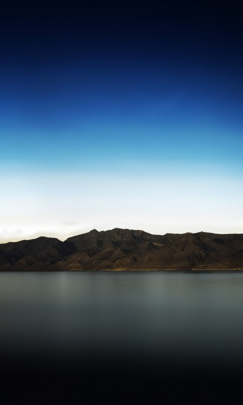 480x800 River & Mountains, nature Galaxy s2 wallpaper
