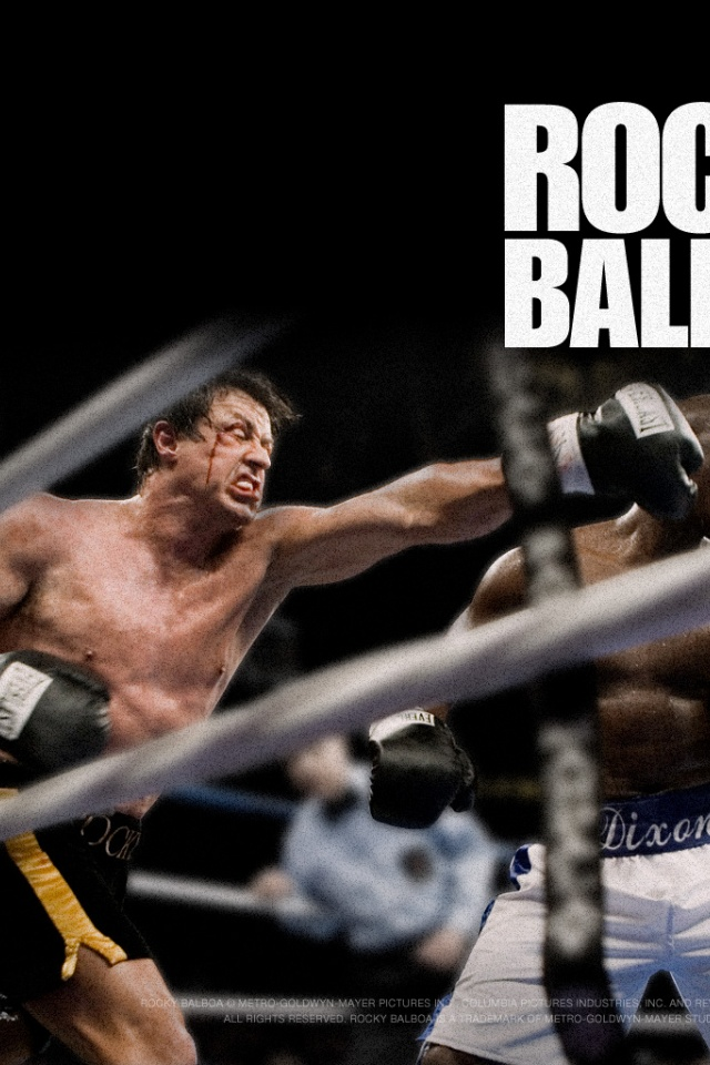640x960 Rocky Balboa Iphone 4 wallpaper