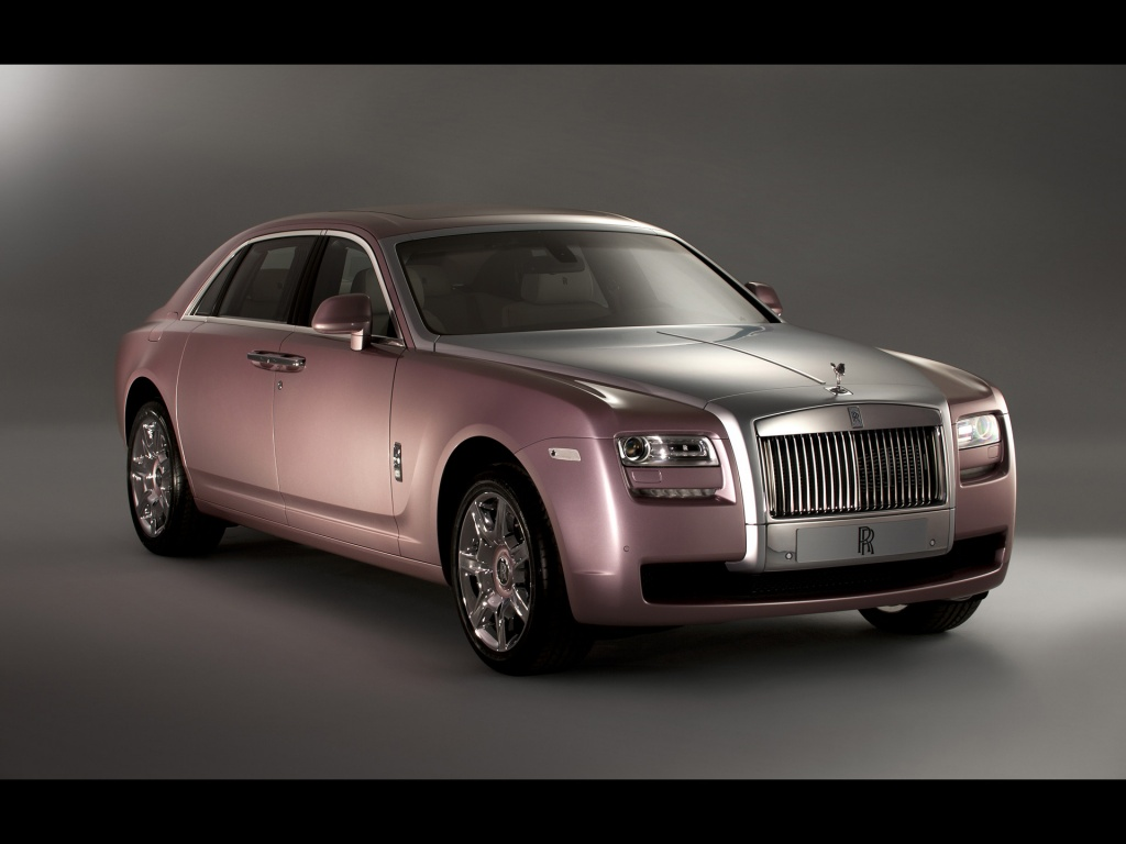 1024x768 Rolls Royce Rose Quartz Ghost Front Desktop Pc