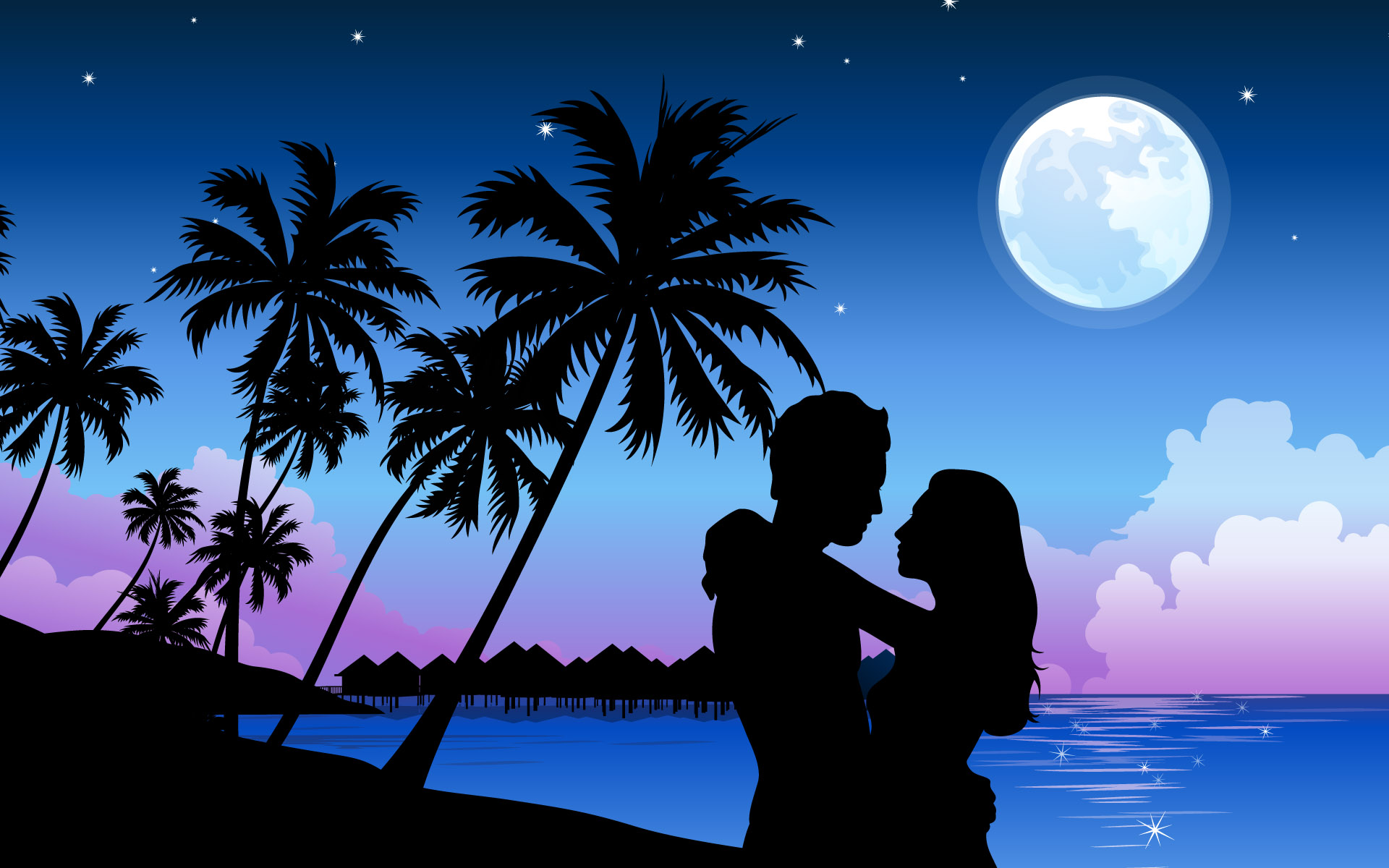1920x1200 Romantic Paradise desktop wallpapers and stock photos