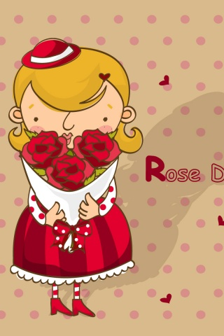 320x480 Rose Day