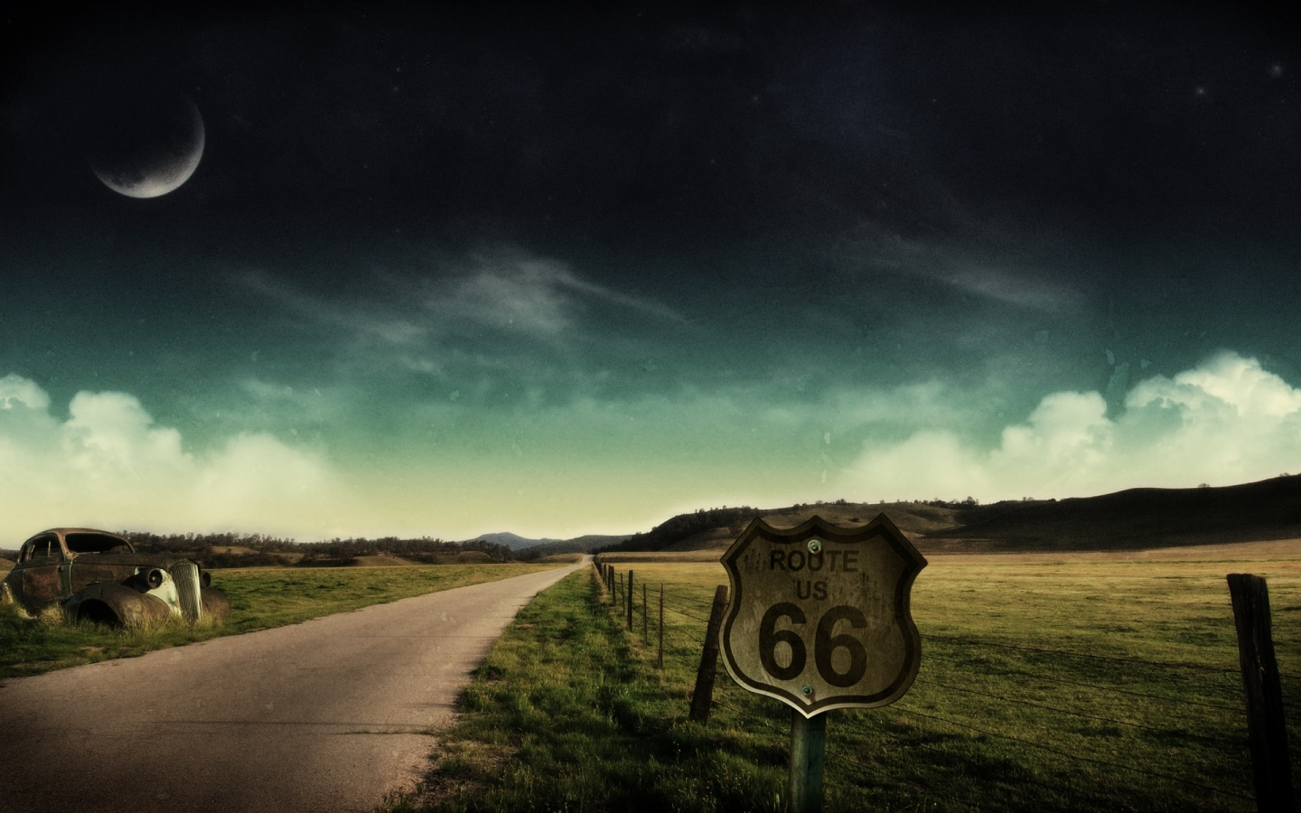 1440x900 route 66 desktop pc and mac wallpaper
