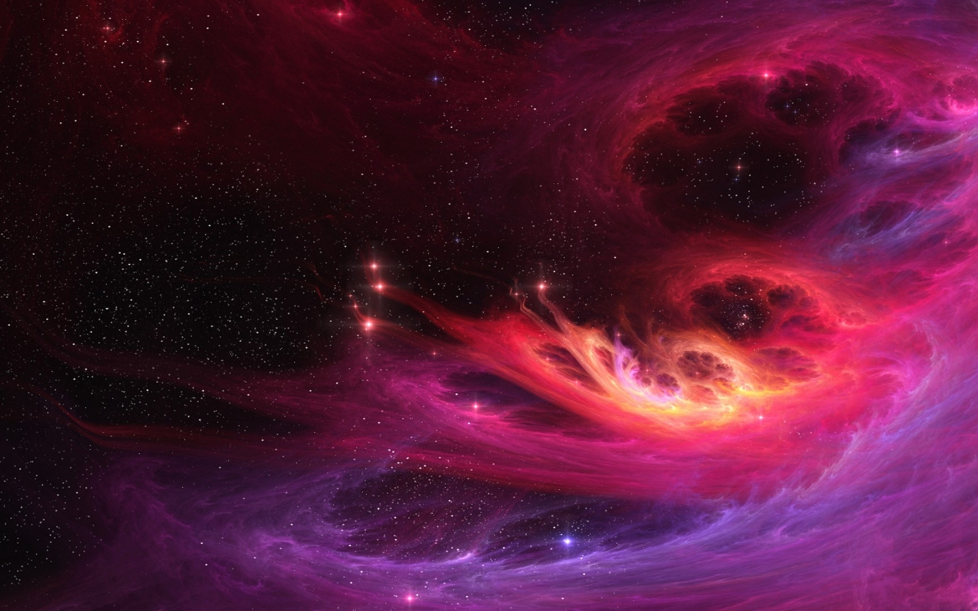 pink nebula pictures - HD1680×1050